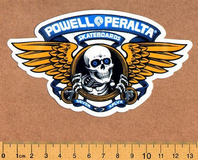 Powell Peralta Skateboard Sticker - DEFECTED - PLEASE READ