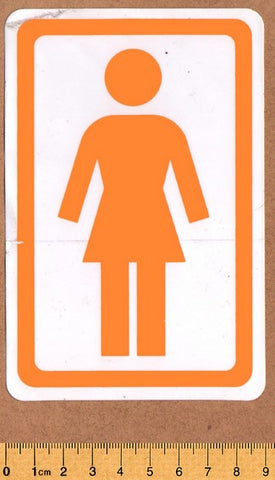 Girl Skateboard Sticker - DEFECTED - PLEASE READ