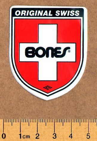 Bones Skateboard Sticker - DEFECTED - PLEASE READ