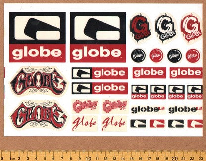 Globe Shoes Sticker Sheet - DEFECTED - PLEASE READ
