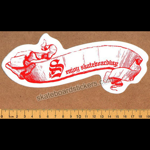 éS Footwear Skateboard Sticker