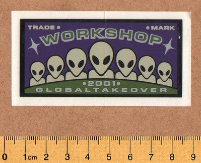 Alien Workshop Skateboard Sticker - DEFECTED - PLEASE READ