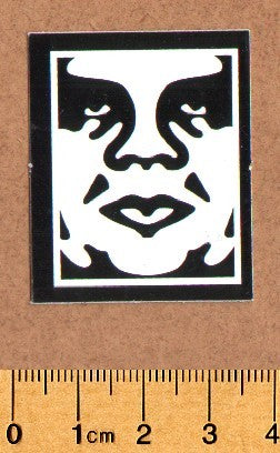 Obey Skateboard Sticker - DEFECTED - PLEASE READ