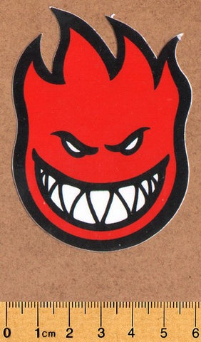 Spitfire Large Skateboard Sticker - DEFECTED - PLEASE READ