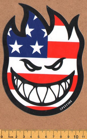 Spitfire Skateboard Sticker - DEFECTED - PLEASE READ