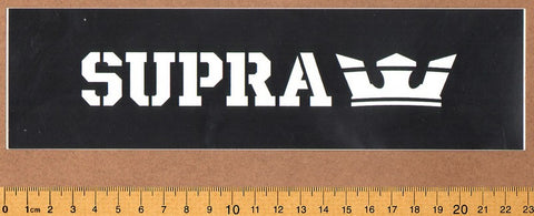 Supra Skateboard Sticker - DEFECTED - PLEASE READ