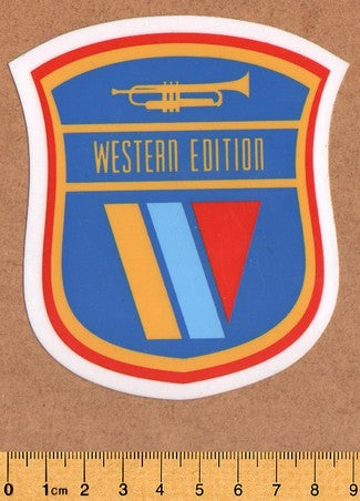 Western Edition Skateboard Sticker - DEFECTED - PLEASE READ