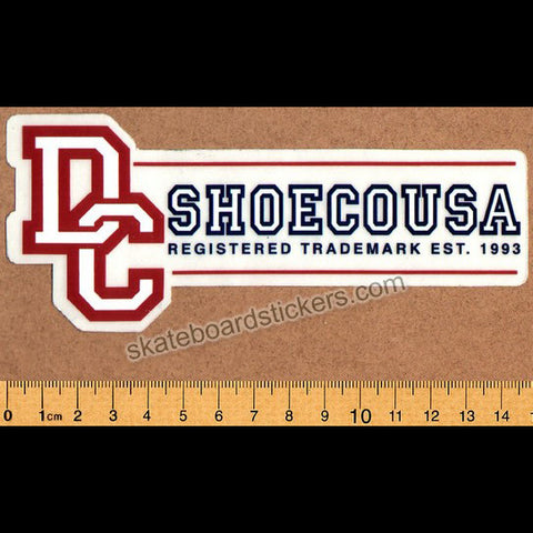 DC Shoe Co. Skateboard Sticker