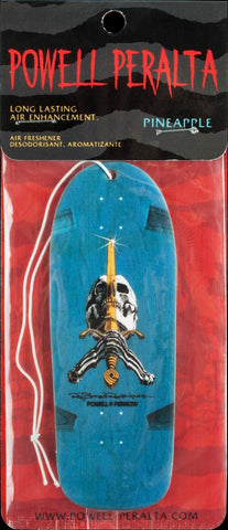 Powell Peralta Air Freshener - OG Skull and Sword