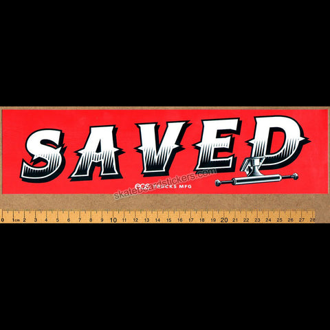 Loose Trucks Saved Bumper Skateboard Sticker