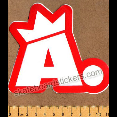Acme Old School Skateboard Sticker