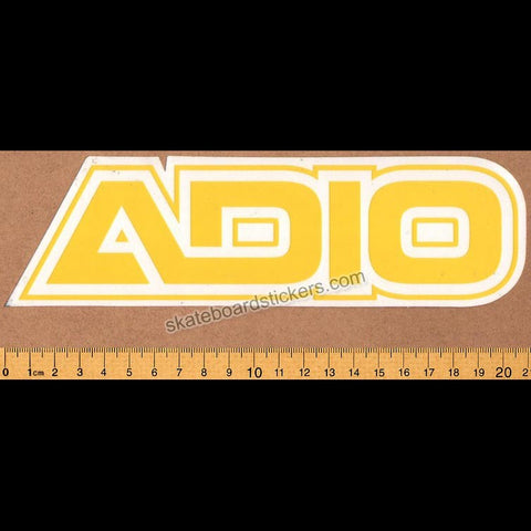 Adio Footwear Skateboard Sticker