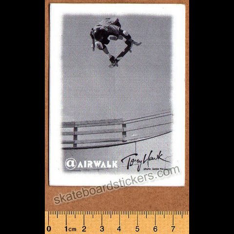 Airwalk Shoes Tony Hawk Old School Skateboard Sticker