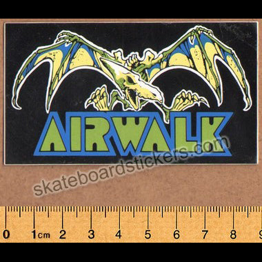 Airwalk Shoes Old School Skateboard Sticker
