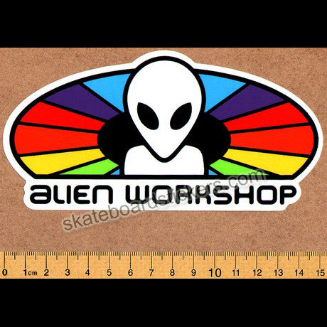 Alien Workshop - Spectrum Skateboard Sticker