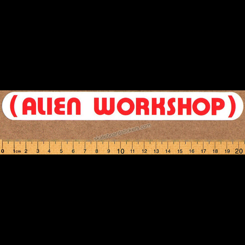 Alien Workshop - Parenthesis Skateboard Sticker
