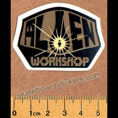Alien Workshop NOS Old School Skateboard Sticker