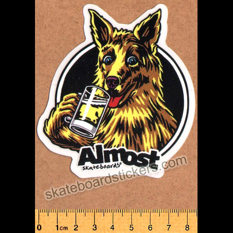 Almost Brew Skateboard Sticker