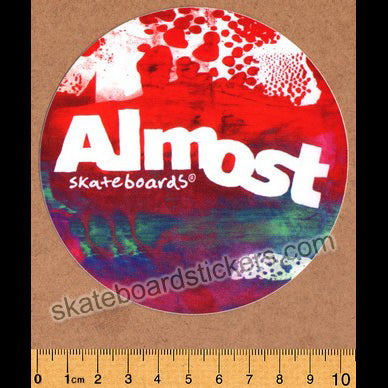Almost Silkscreen Skateboard Sticker
