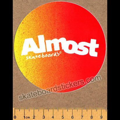Almost Gradient Flip Skateboard Sticker