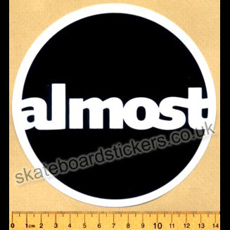 Almost Skateboards Skateboard Sticker