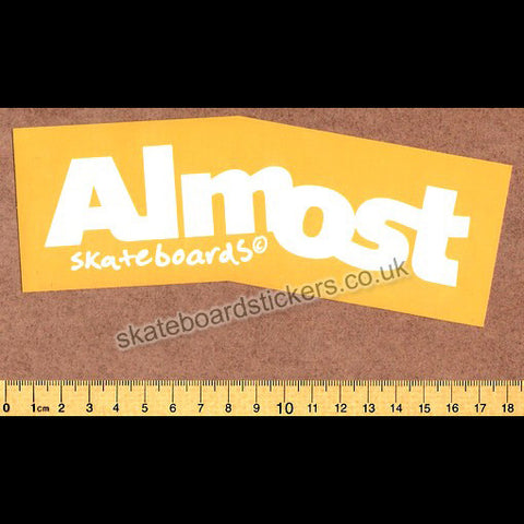 Almost Skateboard Sticker - SkateboardStickers.com