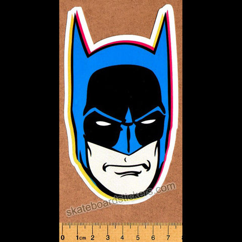 Almost Superheros Skateboard Sticker - Batman - SkateboardStickers.com
