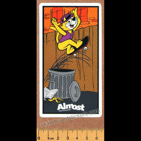 Almost - Top Cat Skateboard Sticker