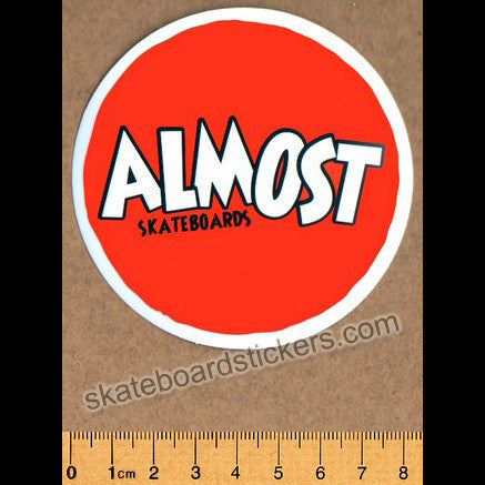 Almost Skateboard Sticker