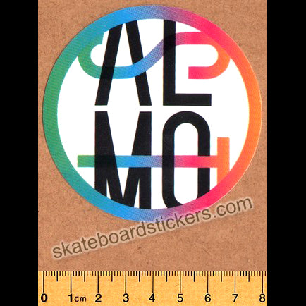 Almost Car Crash Skateboard Sticker