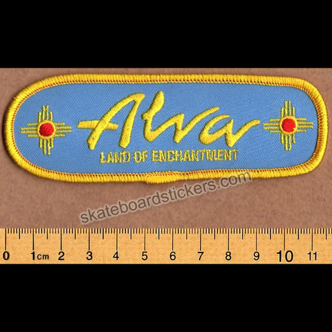 Alva NM Ditch Embroidered Skateboard Patch