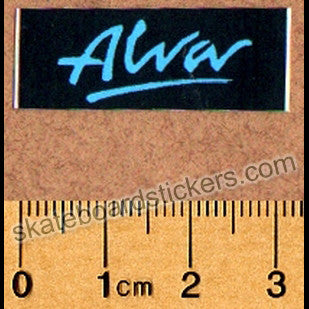 Alva Old School Skateboard Sticker - SkateboardStickers.com
