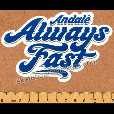 Andale Bearings Skateboard Sticker