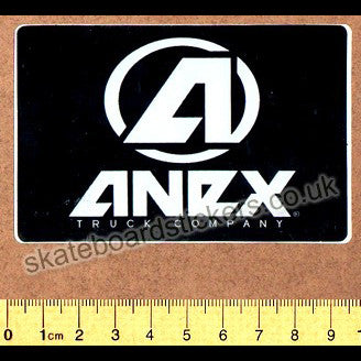 Anex Trucks Skateboard Sticker - SkateboardStickers.com