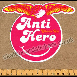 Anti Hero Skateboard Sticker - SkateboardStickers.com