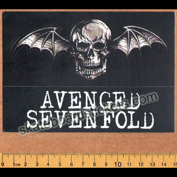 Avenged Sevenfold Heavy Metal Music Band Skateboard Stickers