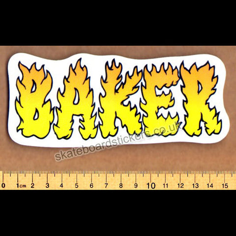 Baker Skateboard Sticker - SkateboardStickers.com