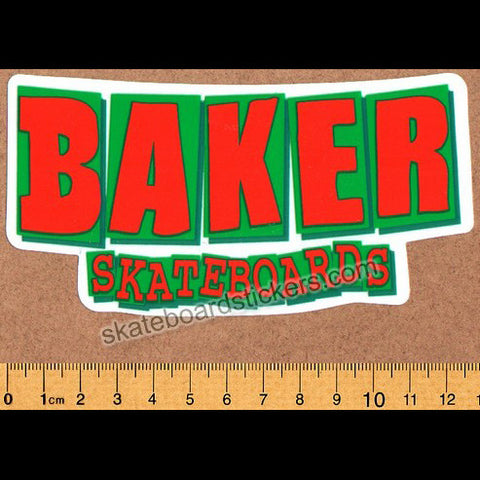 Baker Logo Skateboard Sticker - SkateboardStickers.com
