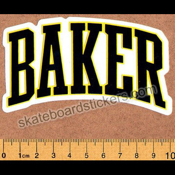 Baker Skateboards Sticker - SkateboardStickers.com