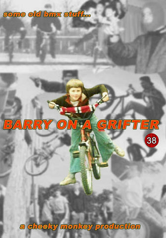 Cheeky Monkey BMX - Barry On A Grifter - Old School UK BMX Video on 2 x DVDs