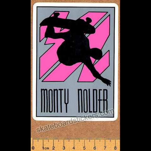 BBC Monty Nolder Old School Vintage Skateboard Sticker