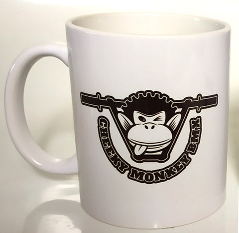 Cheeky Monkey BMX - Behind Bars Coffee Mug