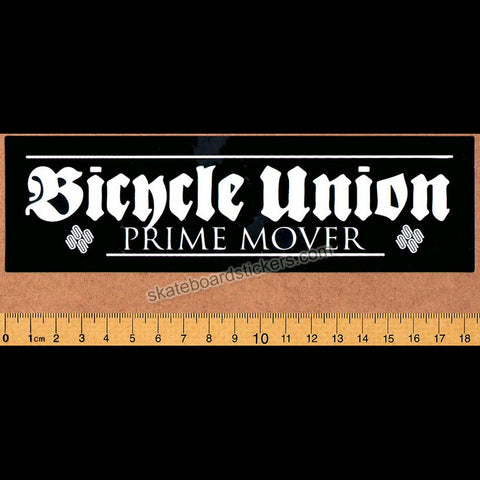 United Bike Co. x Bicycle Union - Prime Mover BMX Sticker