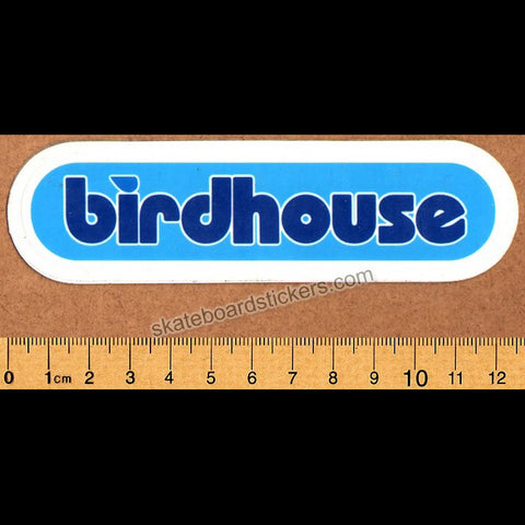 Birdhouse 90s Skateboard Sticker