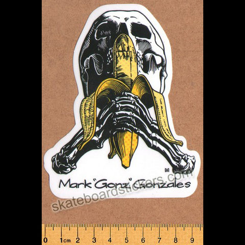 "Blind Skateboards Heritage Skull Series Skateboard Sticker - Mark ""Gonz"" Gonzales"
