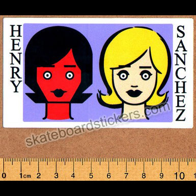 Blind - Henry Sanchez Two Girls Skateboard Sticker