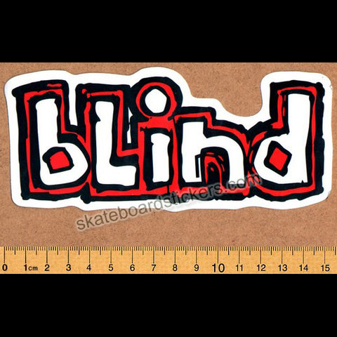 Blind Logo Skateboard Sticker