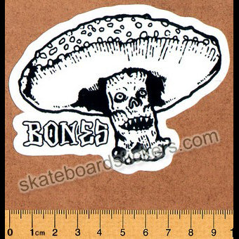 Bones Skateboard Sticker - Night Watch