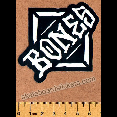 Bones Wheels Skateboard Sticker - Diamond small