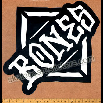 Bones Wheels Skateboard Sticker - Diamond large